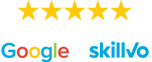 Rated FIVE STARS on Google and Skillvo!